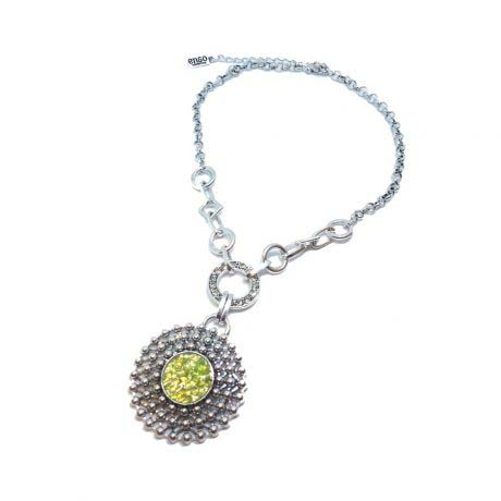 round-olivine-necklace