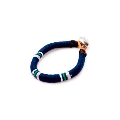 brazalete-cuerda-azul-cuero